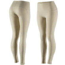 HORZE BIANCA SILICONE BEIGE RIDING TIGHTS - RRP £45.99 (1)